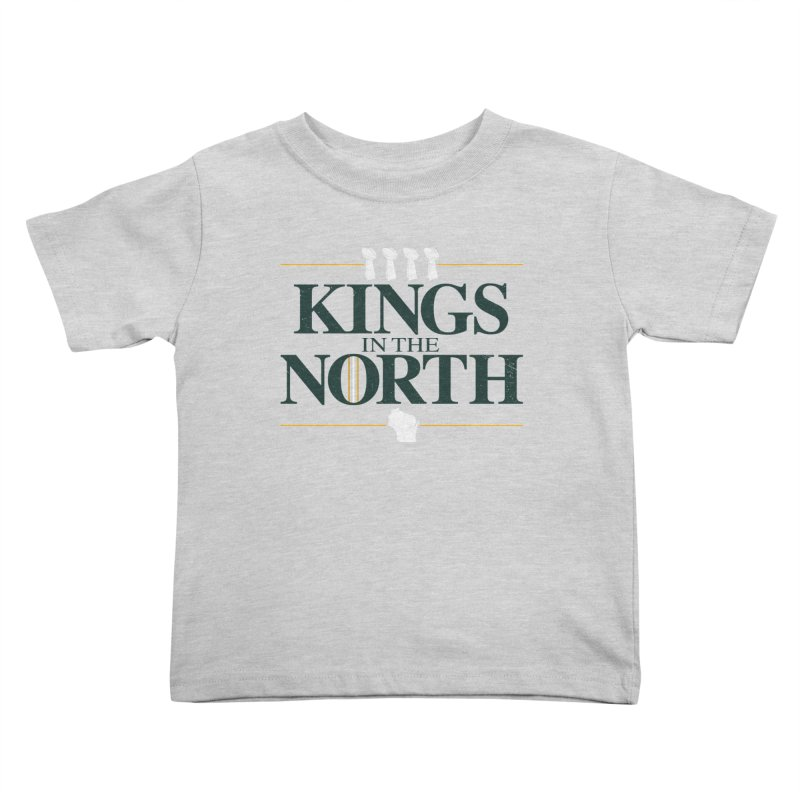 Kings in the North Kids Toddler T-Shirt by Curly & Co.