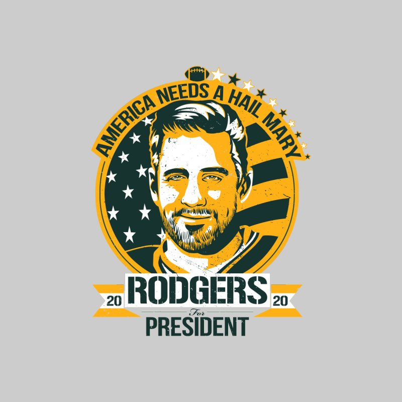 Aaron Rodgers for President 2020 Kids Toddler T-Shirt by Curly & Co.