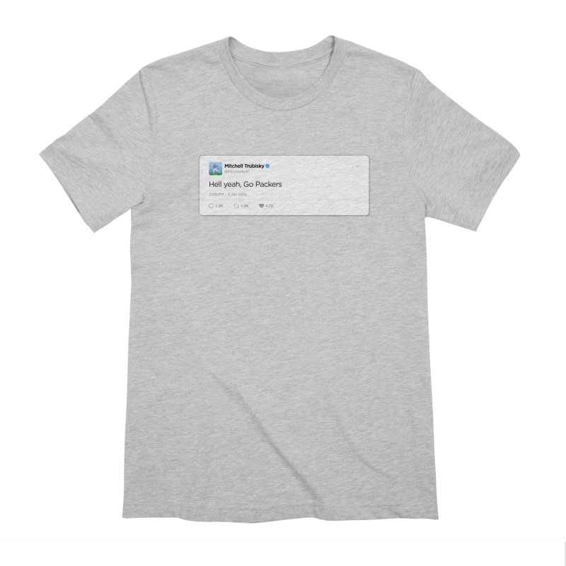 Hell yeah, Go Packers Men's Extra Soft T-Shirt by Curly & Co.