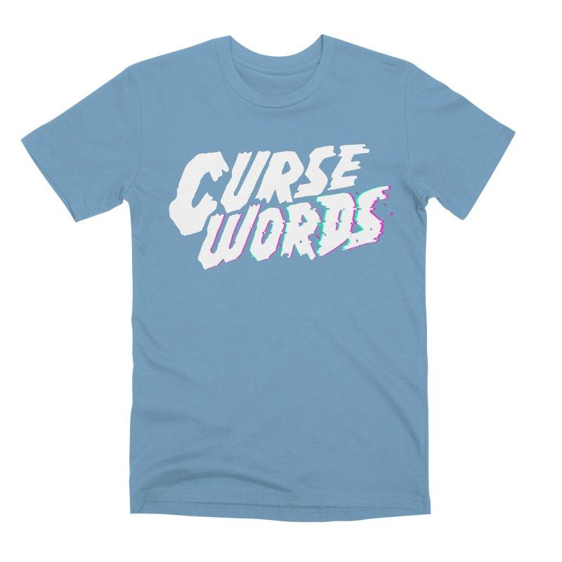 Curse Words Logo Men's T-Shirt by CURSE WORDS OFFICIAL SHOP