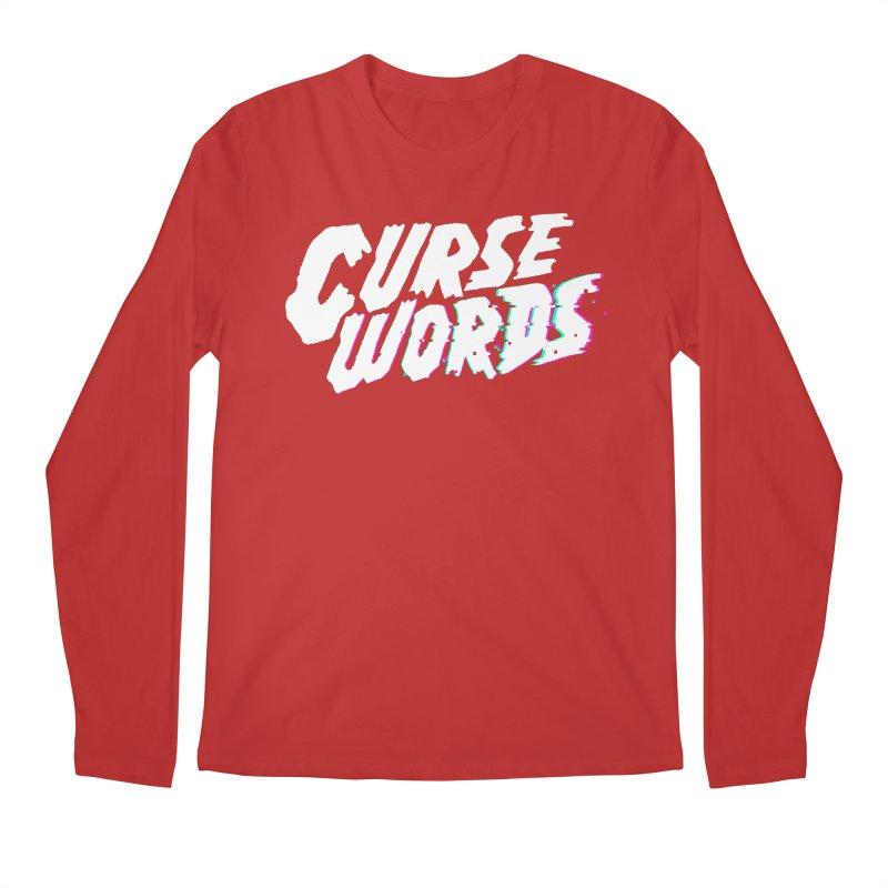 Curse Words Logo Men's Longsleeve T-Shirt by CURSE WORDS OFFICIAL SHOP