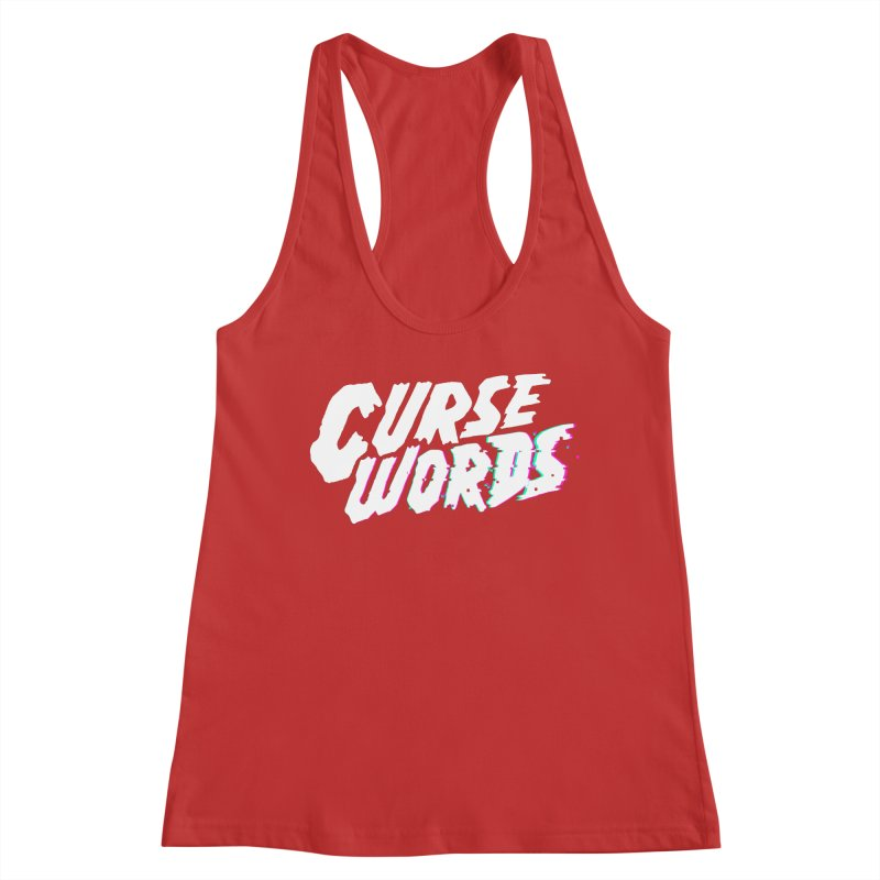 Curse Words Logo Women's Tank by CURSE WORDS OFFICIAL SHOP