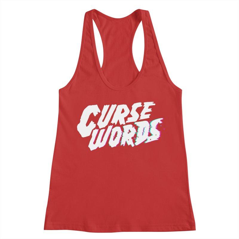 Curse Words Logo Women's Tank by CURSE WORDS OFFICIAL SHOP