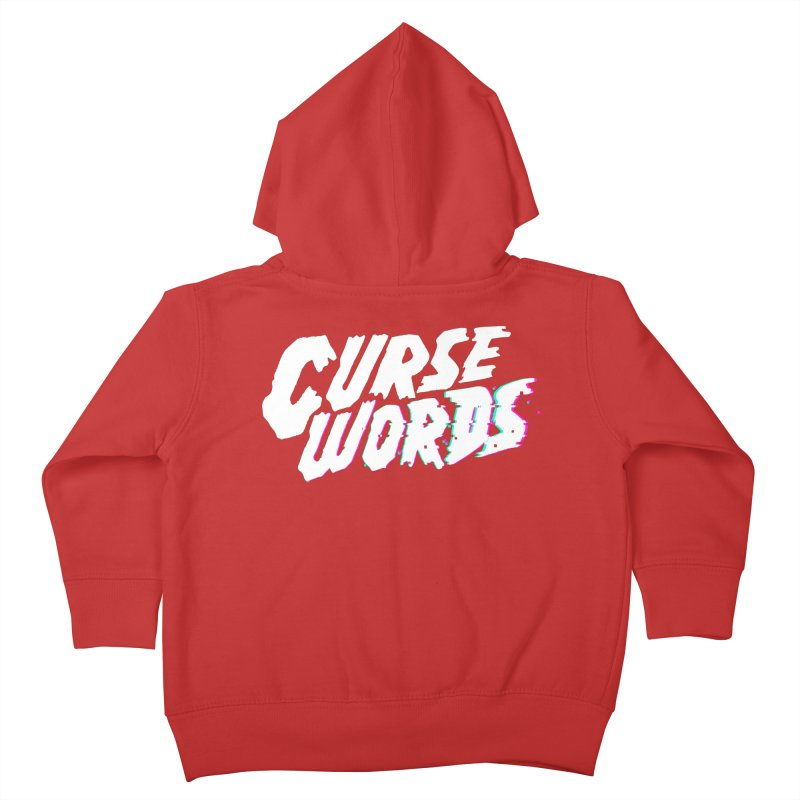 Curse Words Logo Kids Toddler Zip-Up Hoody by CURSE WORDS OFFICIAL SHOP