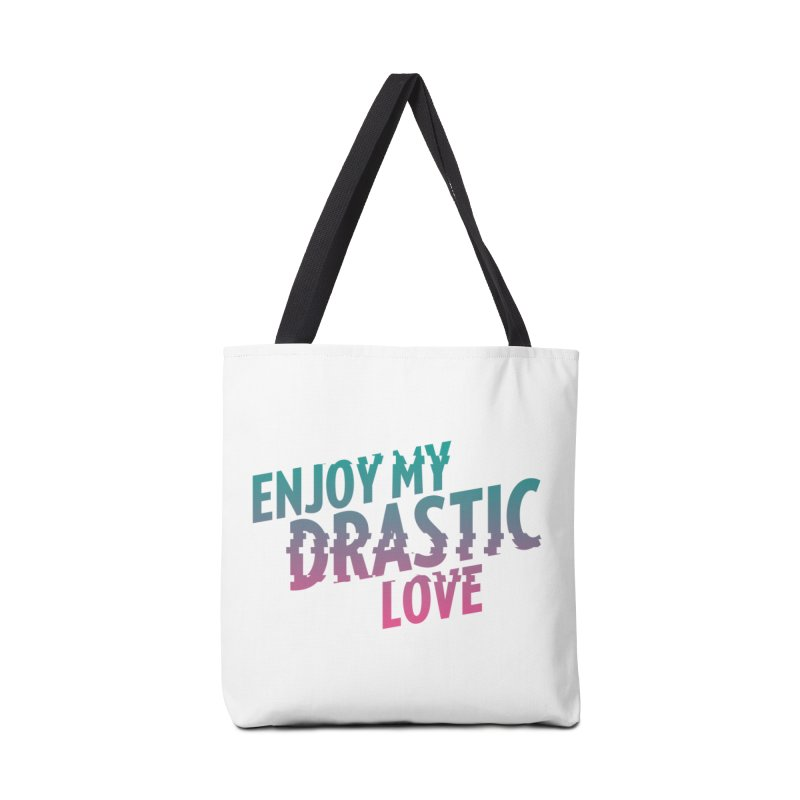 ENJOY MY DRASTIC LOVE Accessories Bag by CURSE WORDS OFFICIAL SHOP