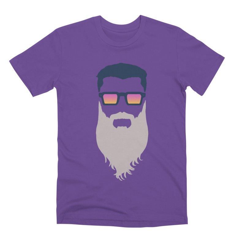 WIZORD MINIMALIST Men's Premium T-Shirt by CURSE WORDS OFFICIAL SHOP