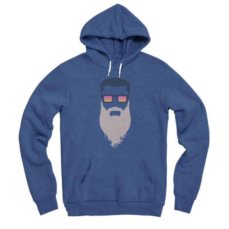 WIZORD MINIMALIST Men's Sponge Fleece Pullover Hoody by CURSE WORDS OFFICIAL SHOP