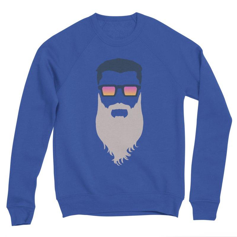 WIZORD MINIMALIST Men's Sweatshirt by CURSE WORDS OFFICIAL SHOP