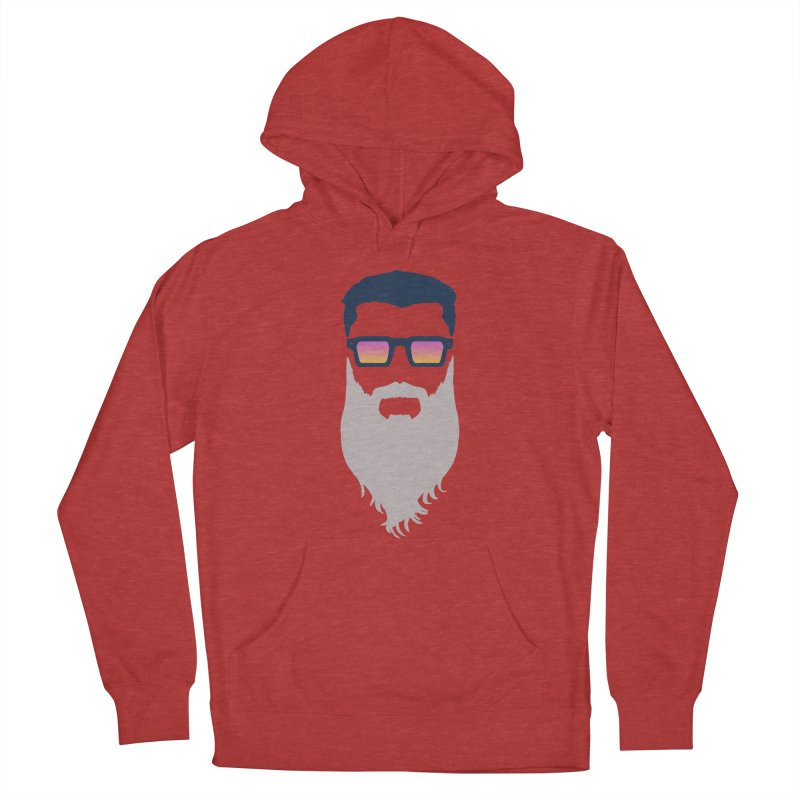 WIZORD MINIMALIST Men's French Terry Pullover Hoody by CURSE WORDS OFFICIAL SHOP