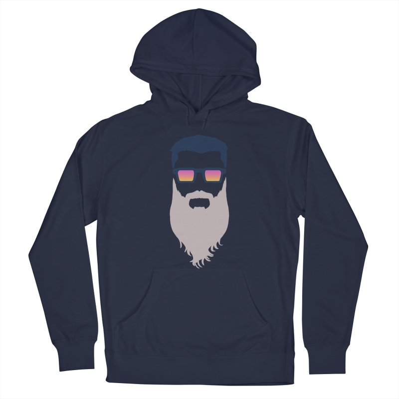 WIZORD MINIMALIST Men's Pullover Hoody by CURSE WORDS OFFICIAL SHOP