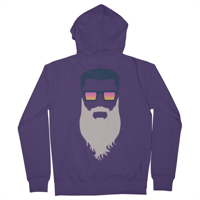 WIZORD MINIMALIST Women's French Terry Zip-Up Hoody by CURSE WORDS OFFICIAL SHOP