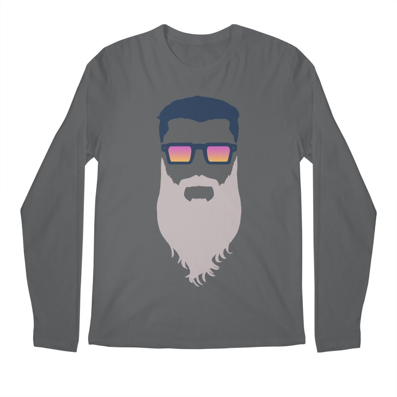 WIZORD MINIMALIST Men's Longsleeve T-Shirt by CURSE WORDS OFFICIAL SHOP
