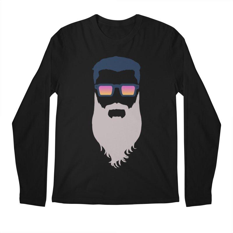 WIZORD MINIMALIST Men's Regular Longsleeve T-Shirt by CURSE WORDS OFFICIAL SHOP