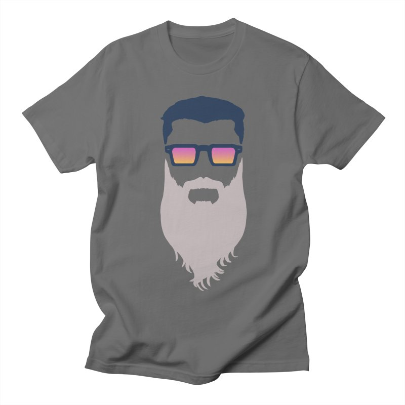 WIZORD MINIMALIST Men's T-Shirt by CURSE WORDS OFFICIAL SHOP
