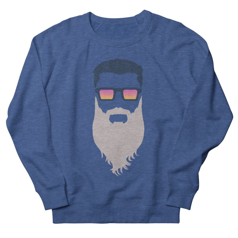 WIZORD MINIMALIST Women's French Terry Sweatshirt by CURSE WORDS OFFICIAL SHOP