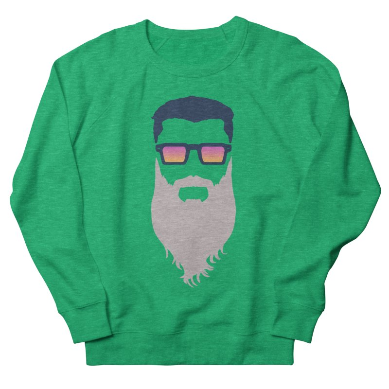WIZORD MINIMALIST Men's French Terry Sweatshirt by CURSE WORDS OFFICIAL SHOP