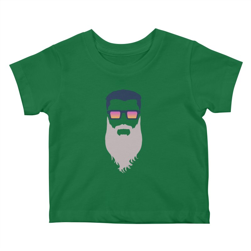 WIZORD MINIMALIST Kids Baby T-Shirt by CURSE WORDS OFFICIAL SHOP