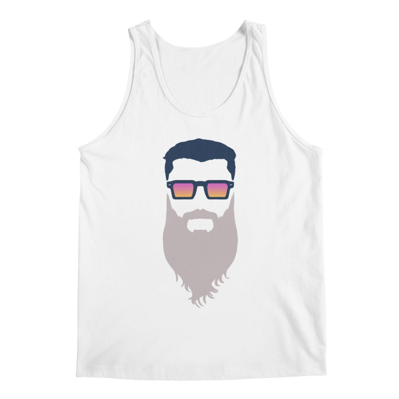 WIZORD MINIMALIST Men's Regular Tank by CURSE WORDS OFFICIAL SHOP