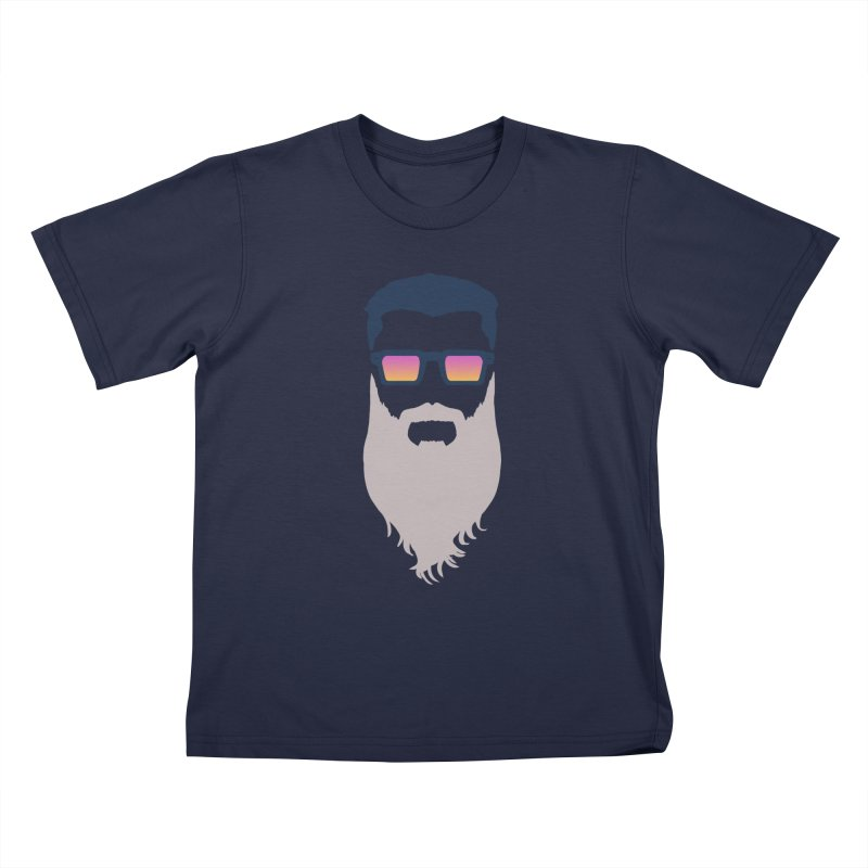 WIZORD MINIMALIST Kids T-Shirt by CURSE WORDS OFFICIAL SHOP