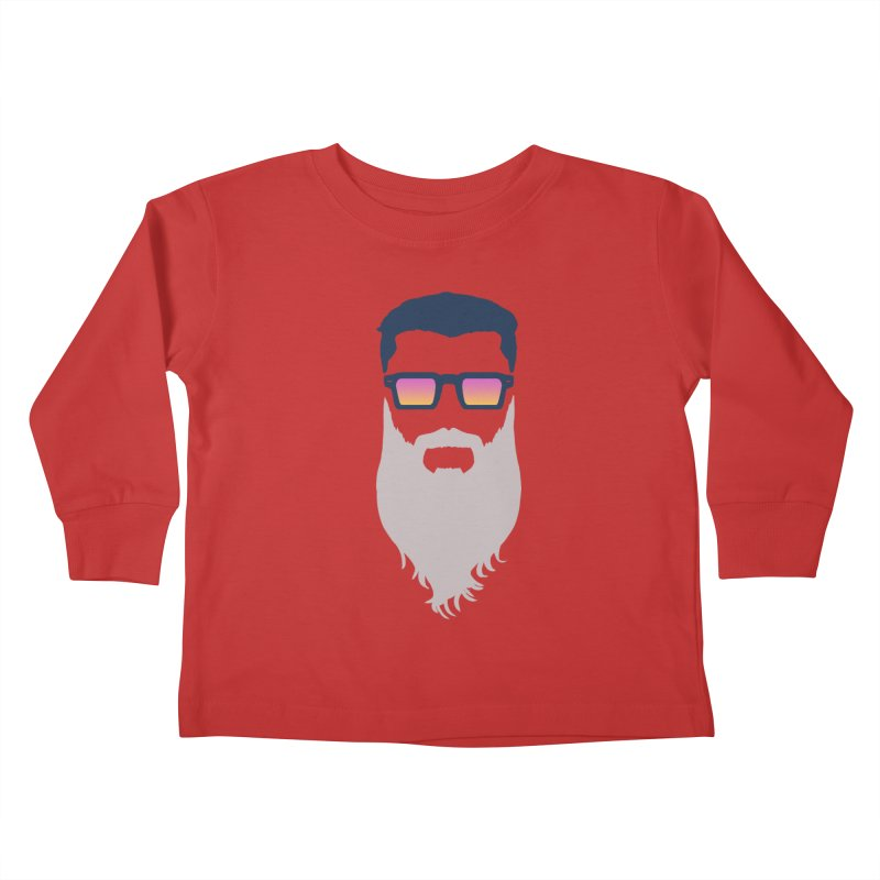 WIZORD MINIMALIST Kids Toddler Longsleeve T-Shirt by CURSE WORDS OFFICIAL SHOP