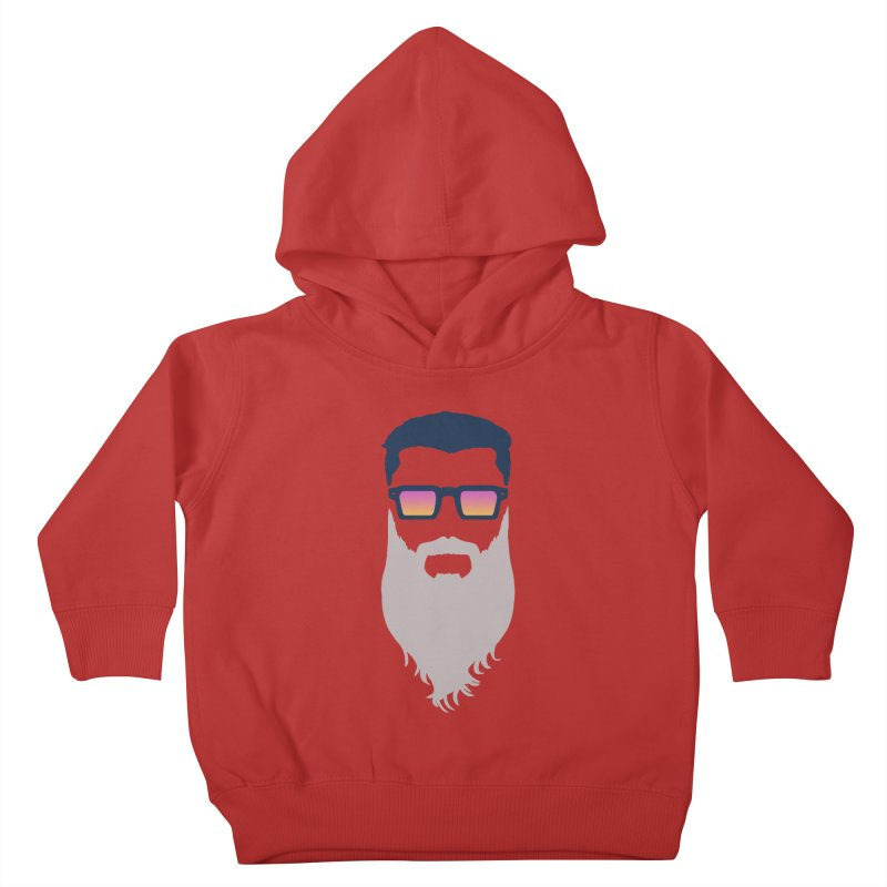 WIZORD MINIMALIST Kids Toddler Pullover Hoody by CURSE WORDS OFFICIAL SHOP