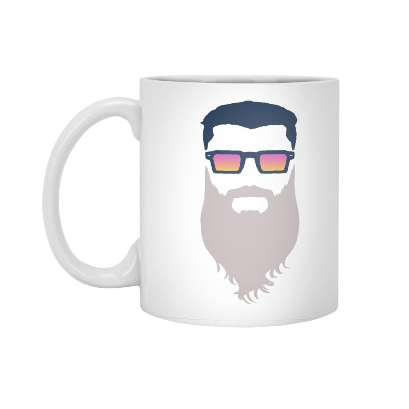 WIZORD MINIMALIST Accessories Standard Mug by CURSE WORDS OFFICIAL SHOP