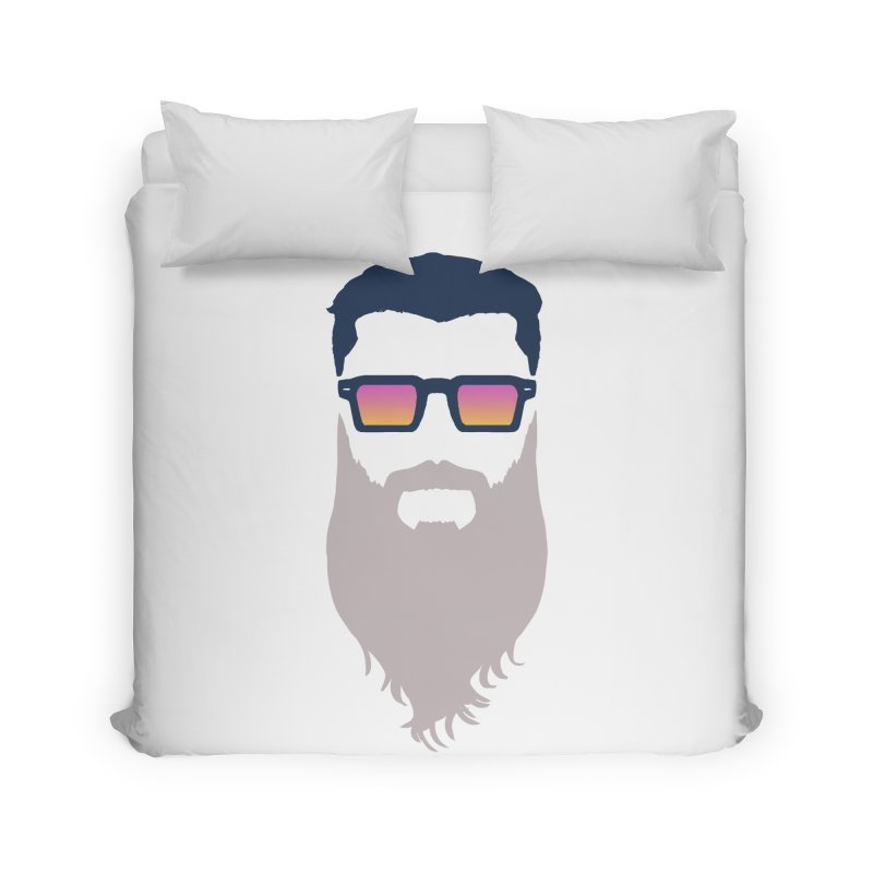 WIZORD MINIMALIST Home Duvet by CURSE WORDS OFFICIAL SHOP