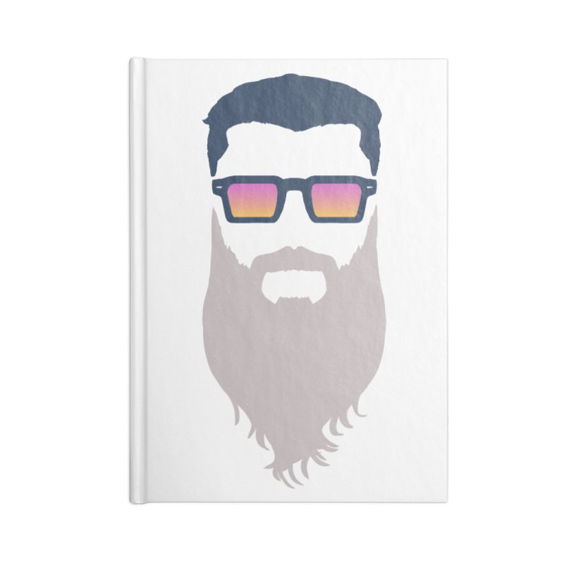 WIZORD MINIMALIST Accessories Blank Journal Notebook by CURSE WORDS OFFICIAL SHOP