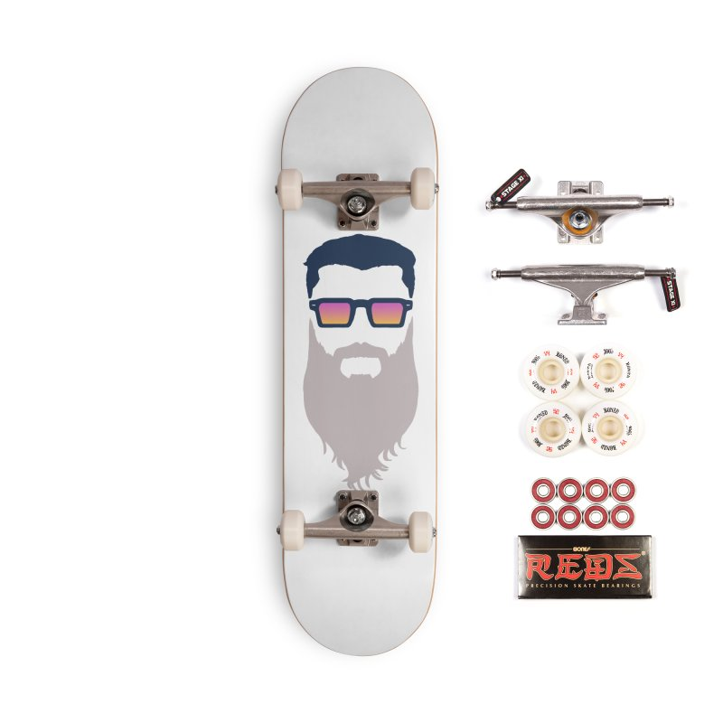 WIZORD MINIMALIST Accessories Complete - Pro Skateboard by CURSE WORDS OFFICIAL SHOP
