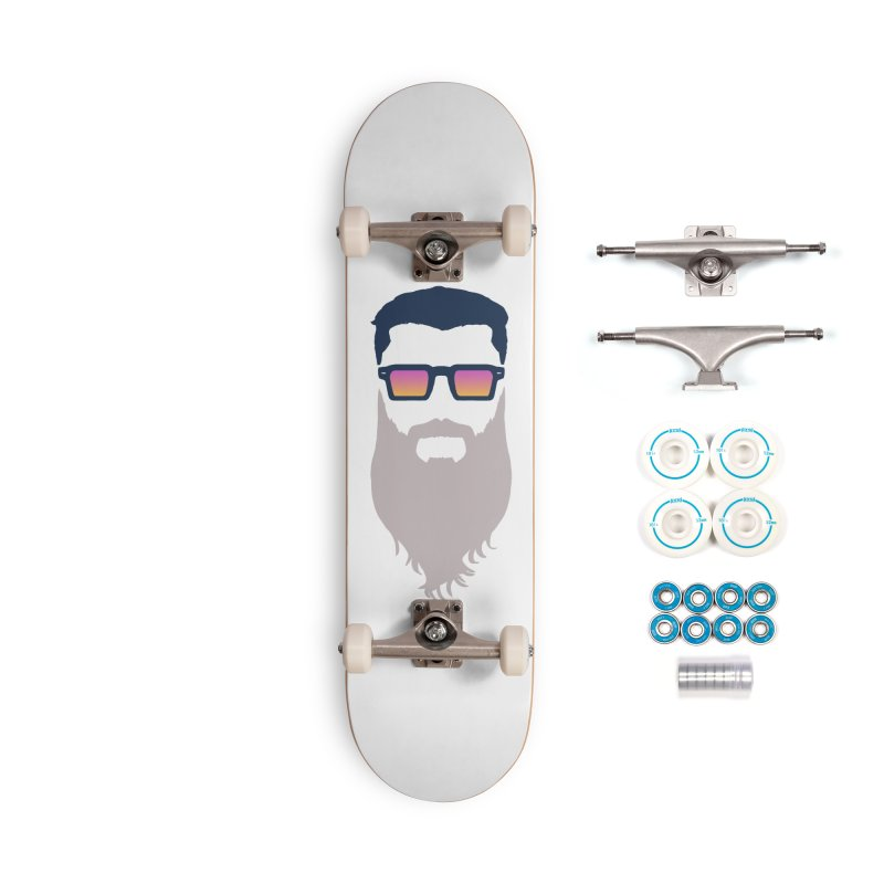 WIZORD MINIMALIST Accessories Complete - Basic Skateboard by CURSE WORDS OFFICIAL SHOP