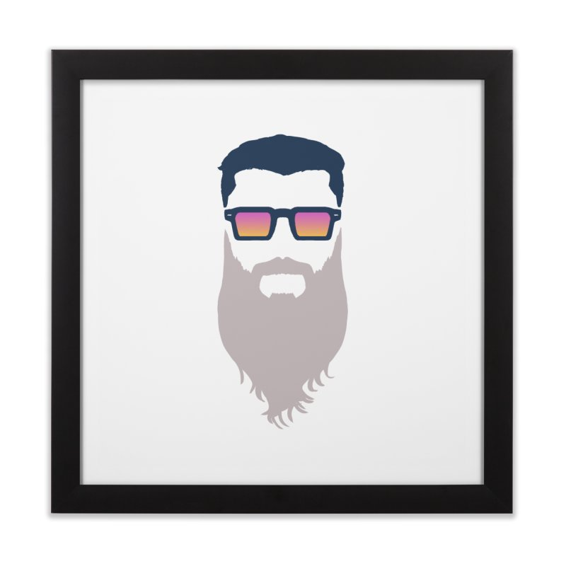 WIZORD MINIMALIST Home Framed Fine Art Print by CURSE WORDS OFFICIAL SHOP