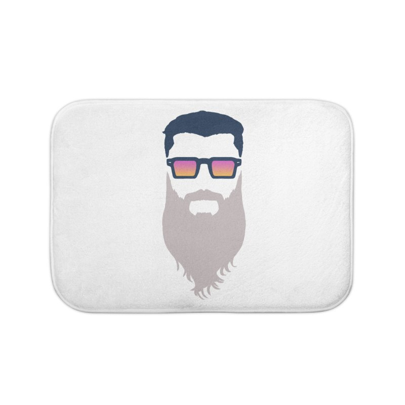WIZORD MINIMALIST Home Bath Mat by CURSE WORDS OFFICIAL SHOP