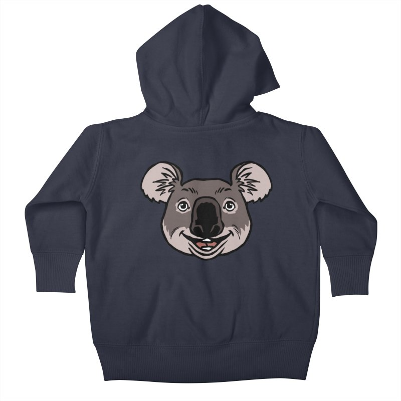 MARGARET Kids Baby Zip-Up Hoody by CURSE WORDS OFFICIAL SHOP