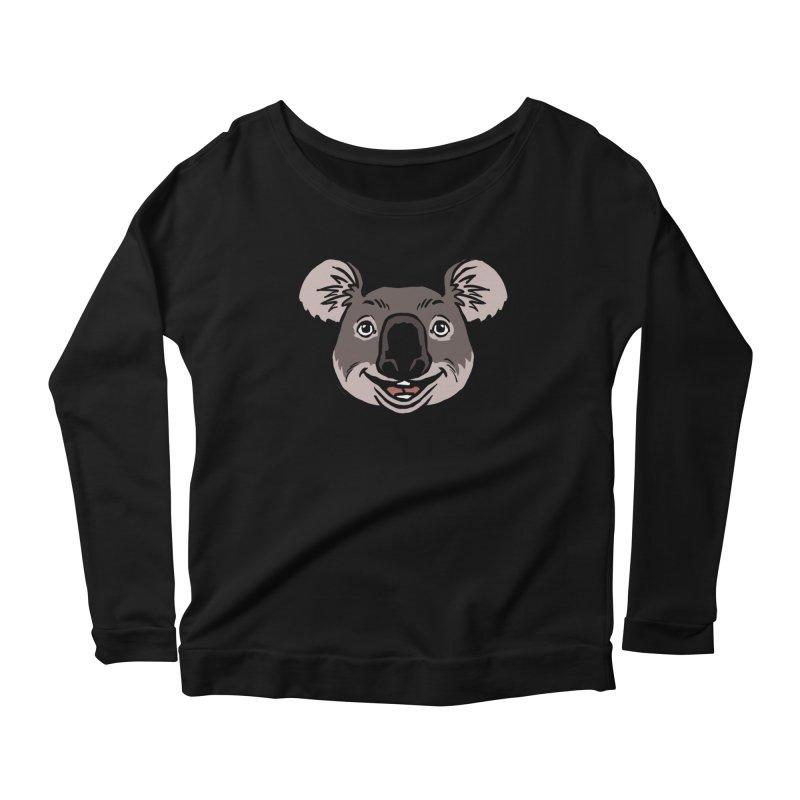 MARGARET Women's Scoop Neck Longsleeve T-Shirt by CURSE WORDS OFFICIAL SHOP
