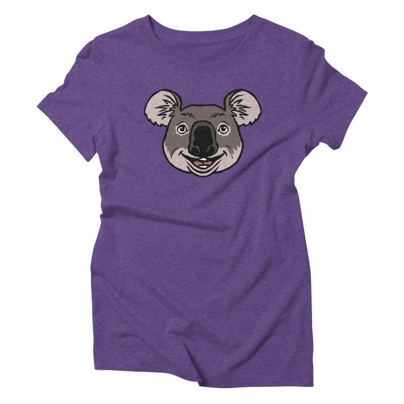 MARGARET Women's Triblend T-Shirt by CURSE WORDS OFFICIAL SHOP
