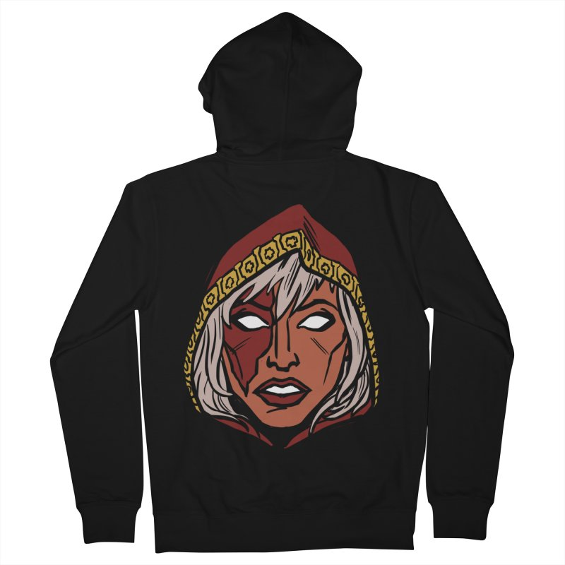 RUBY Women's Zip-Up Hoody by CURSE WORDS OFFICIAL SHOP