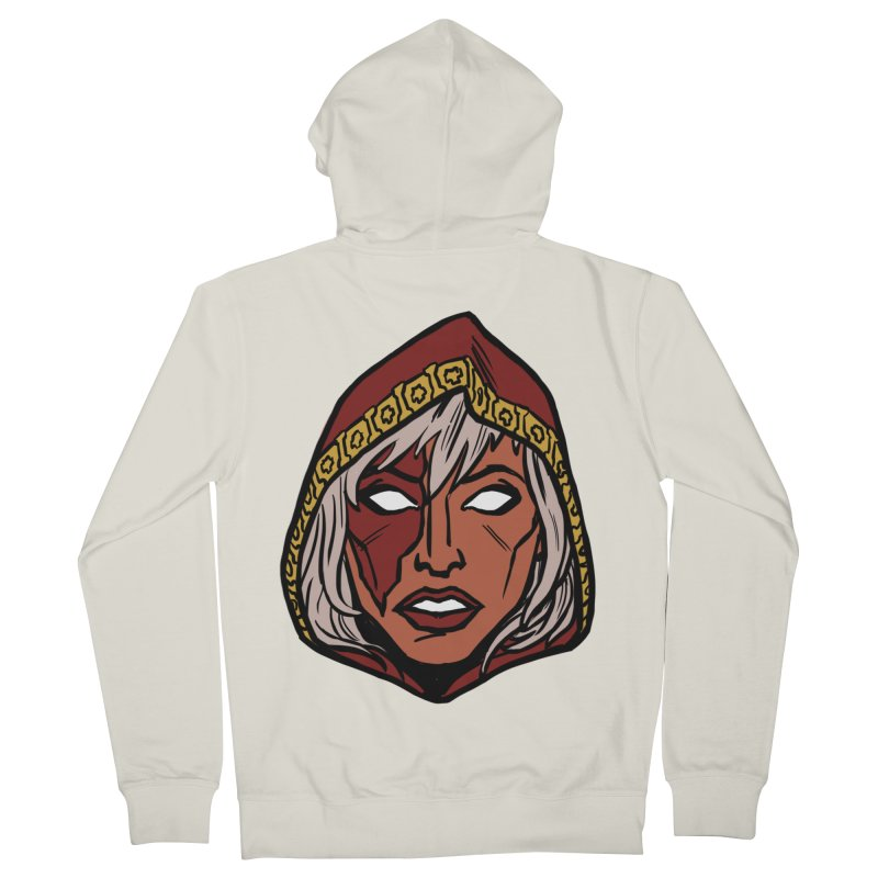 RUBY Women's French Terry Zip-Up Hoody by CURSE WORDS OFFICIAL SHOP