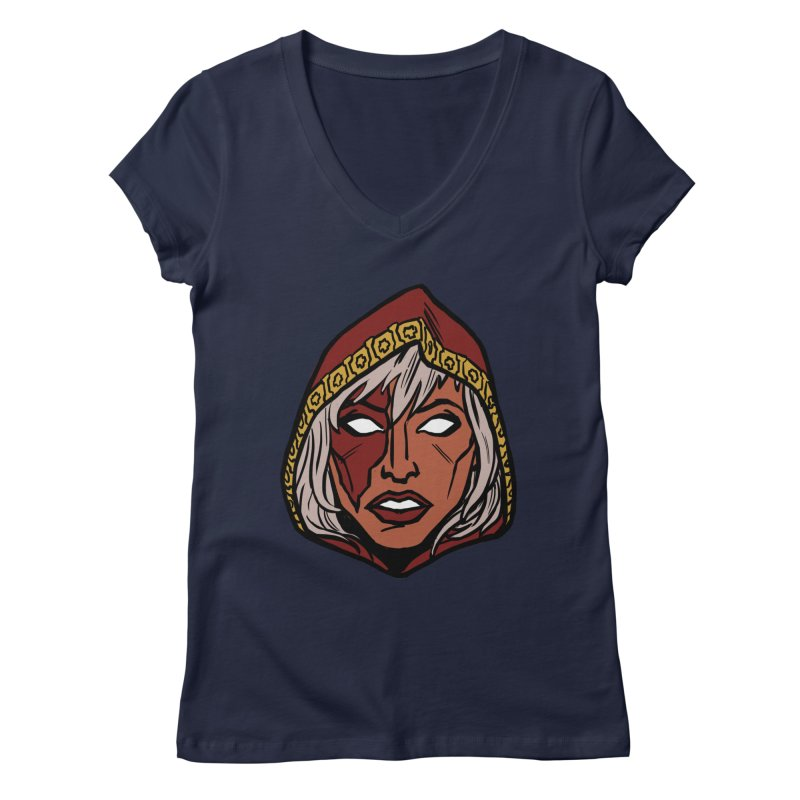 RUBY Women's V-Neck by CURSE WORDS OFFICIAL SHOP