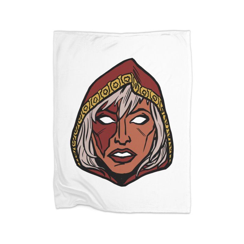 RUBY Home Fleece Blanket Blanket by CURSE WORDS OFFICIAL SHOP