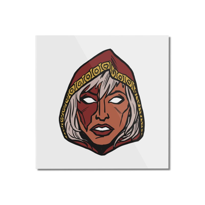 RUBY Home Mounted Acrylic Print by CURSE WORDS OFFICIAL SHOP