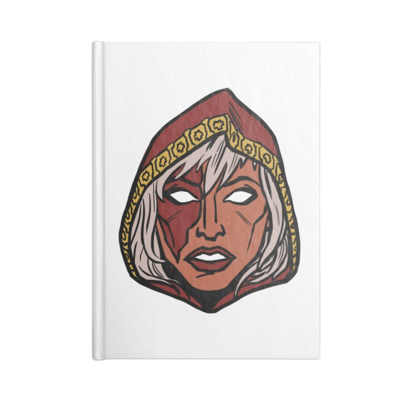 RUBY Accessories Lined Journal Notebook by CURSE WORDS OFFICIAL SHOP