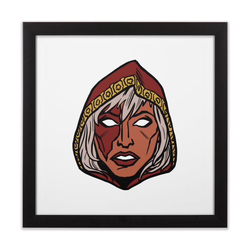 RUBY Home Framed Fine Art Print by CURSE WORDS OFFICIAL SHOP