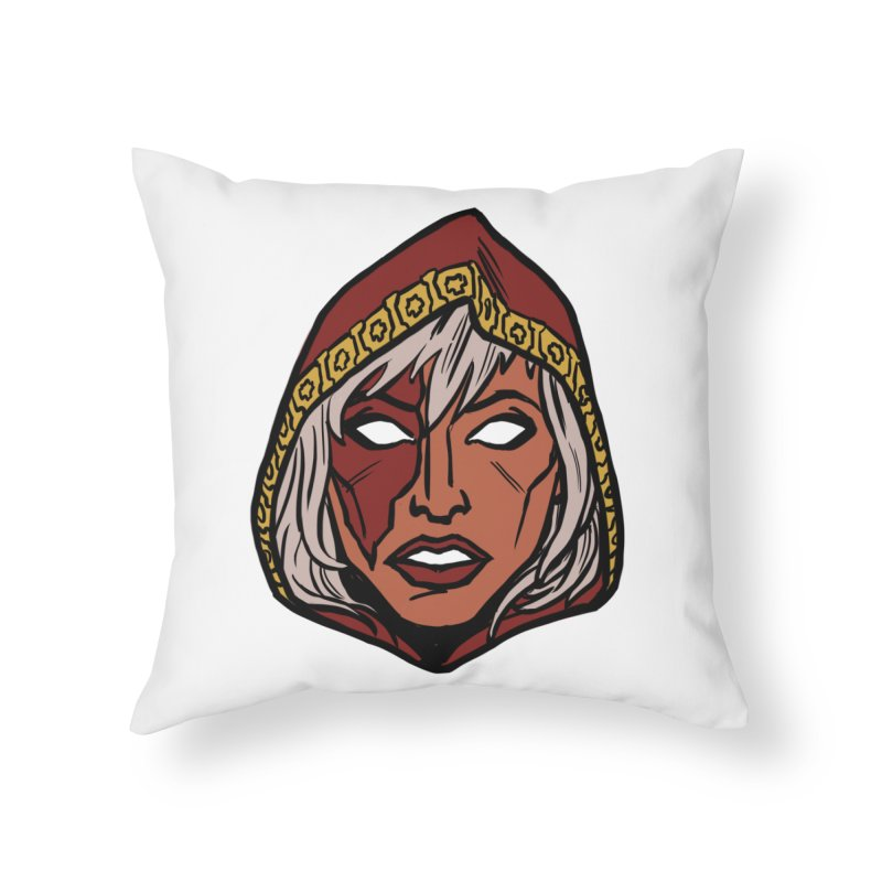 RUBY Home Throw Pillow by CURSE WORDS OFFICIAL SHOP