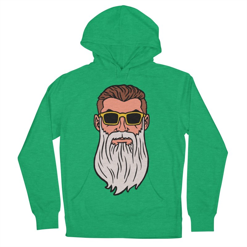 WIZORD Men's French Terry Pullover Hoody by CURSE WORDS OFFICIAL SHOP