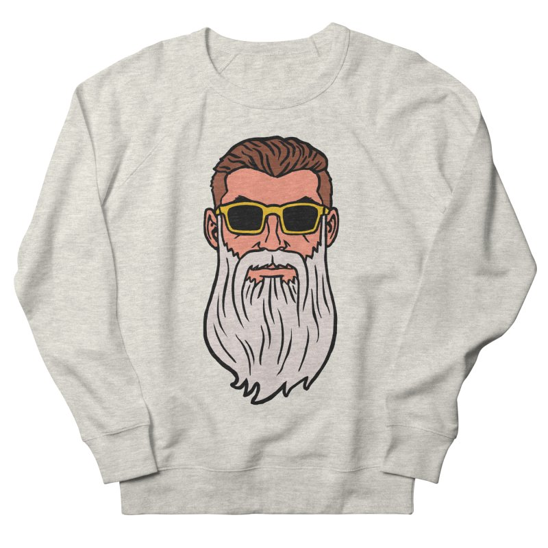 WIZORD Men's French Terry Sweatshirt by CURSE WORDS OFFICIAL SHOP