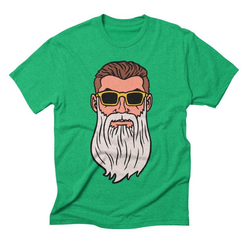 WIZORD Men's Triblend T-Shirt by CURSE WORDS OFFICIAL SHOP