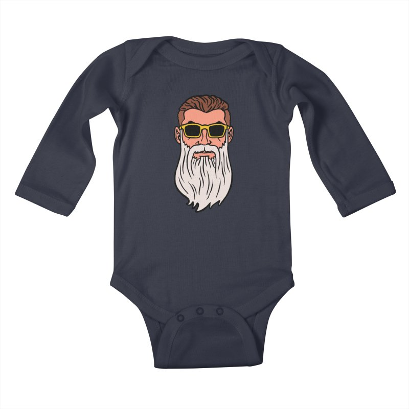 WIZORD Kids Baby Longsleeve Bodysuit by CURSE WORDS OFFICIAL SHOP