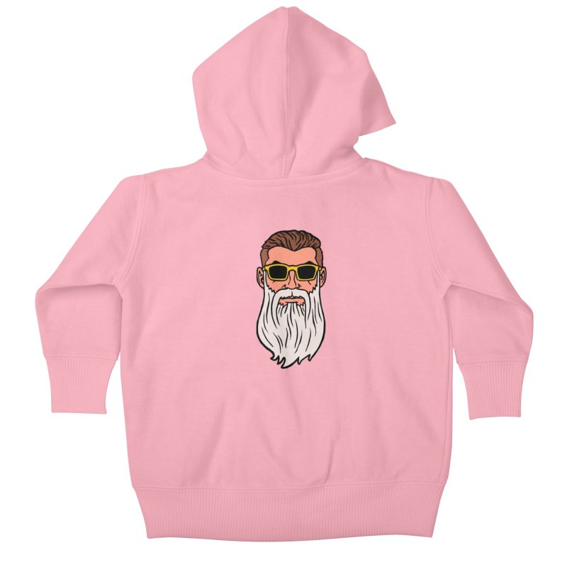 WIZORD Kids Baby Zip-Up Hoody by CURSE WORDS OFFICIAL SHOP
