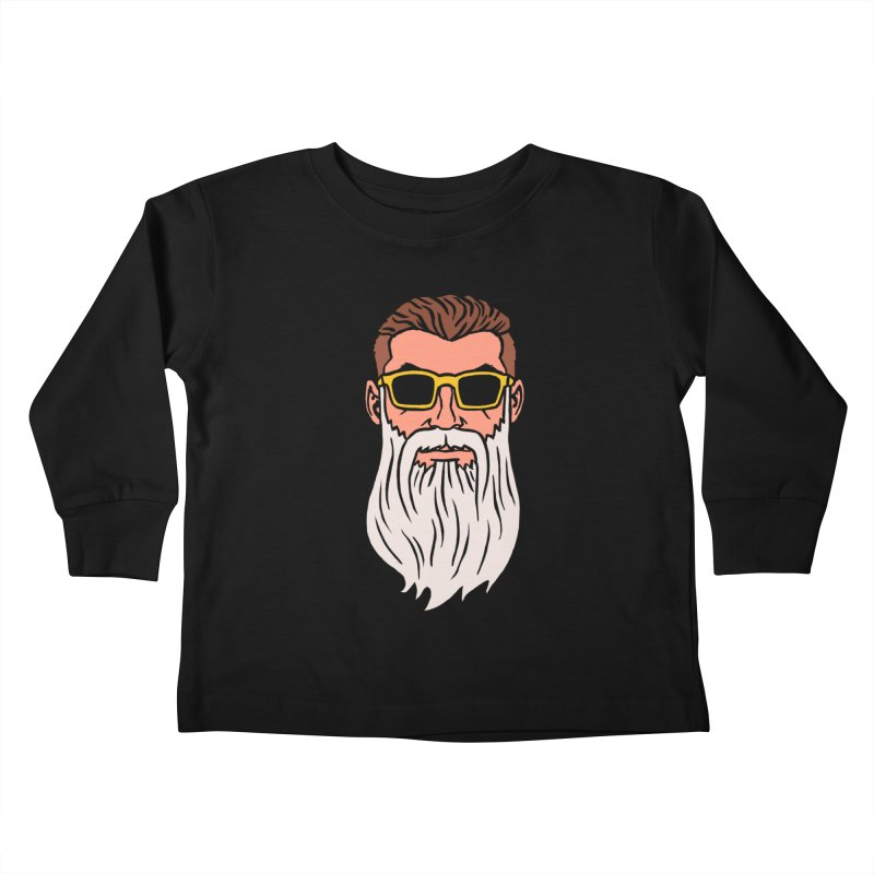 WIZORD Kids Toddler Longsleeve T-Shirt by CURSE WORDS OFFICIAL SHOP