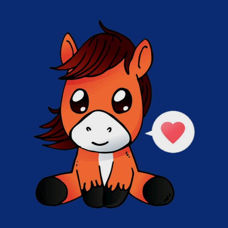 Cutelucu Cute Horse Cartoon Womens